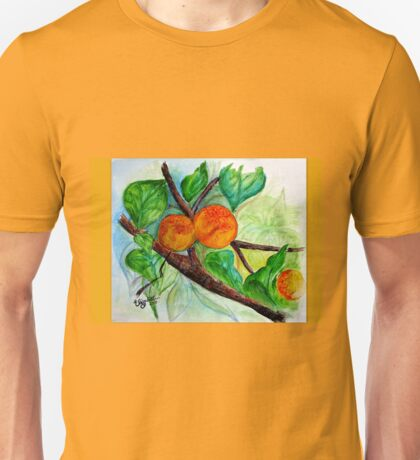 Apricots are nice Unisex T-Shirt