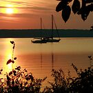 Sunrise in Door County by eaglewatcher4