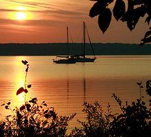 Sunrise in Door County by eaglewatcher4