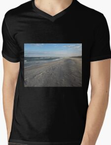 Winter Light Mens V-Neck T-Shirt