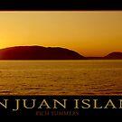 San Juan Islands - Poster by Rich Summers