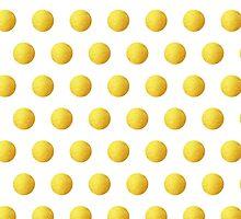 Golden Polka dots by o2creativeNY