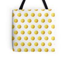 Golden Polka dots Tote Bag