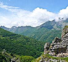 The Picos de Europa -Spain by Nala