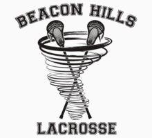 Beacon Hills Lacrosse (black) One Piece - Long Sleeve