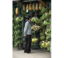 buying banana Photographic Print