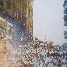 Shining umbrellas by martag18