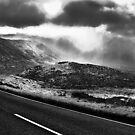 The road to the Sligachan by Ben Malcolm