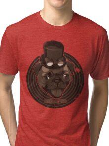 Steam Pug Tri-blend T-Shirt
