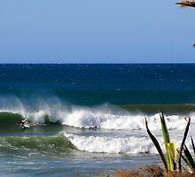 Windy Surf At Anchors by Katarina Podrug