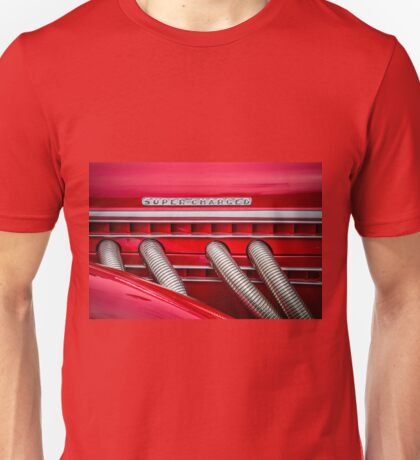 Red Super-Charged Unisex T-Shirt