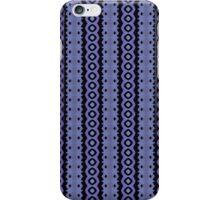 Blue Caterpillar Crawl Batik iPhone Case/Skin