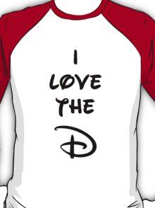 I love the D (Disney inspired) Bachelor or Bachelorette shirt T-Shirt