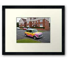 Flower Power Mini Framed Print