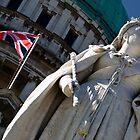 Queenie at City Hall by Alan McMorris