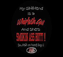 My Girlfriend is a Whiplash Girl by Richard Heath