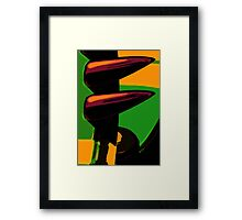 Laugh and be Happy Framed Print