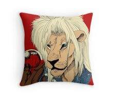 Goblin King of the Jungle (full color) Throw Pillow