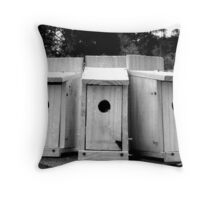 Newly-finsihed Oak homes- ready for occupancy Throw Pillow