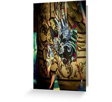 3884 Abstract Male Greeting Card