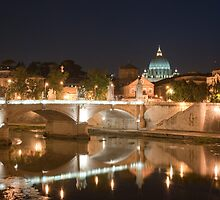 by night... Saint Peter's by Niek Broens