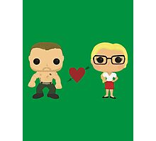 Oliver and Felicity  Photographic Print