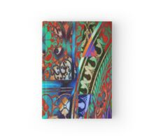 3873 Indian Print Hardcover Journal