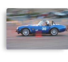 Sport Car Club of America...Night Race Canvas Print