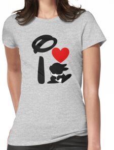 I Heart Thumper Womens Fitted T-Shirt