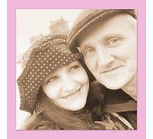 Shiny Happy People Photographic Print
