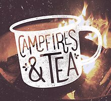 CAMPFIRES & TEA by cabinsupplyco