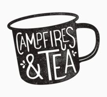 CAMPFIRES & TEA Kids Tee
