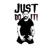 JUST DO IT. Photographic Print