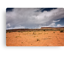 A Sere and Lonely Land Canvas Print