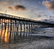 Sunrise in Myrtle Beach by Joel Hall