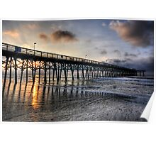 Sunrise in Myrtle Beach Poster