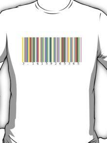 Pi Barcode T-Shirt