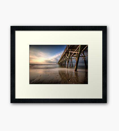 Waveless Framed Print