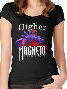 Higher Magneto Women's Fitted Scoop T-Shirt