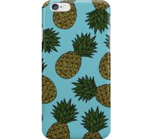PINEAPPLE - BLUE iPhone Case/Skin