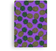 SUMMER EDITIONS - PINEAPPLE Canvas Print
