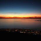 Three layered sunset by fortheloveofit