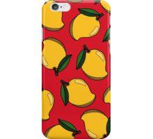 MANGO - RED iPhone Case/Skin