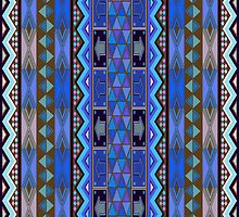 African design, pattern by Richard Laschon