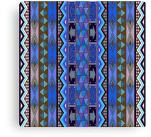 African design, pattern Canvas Print