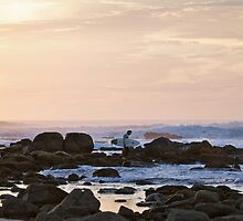 Sunset Surf by 1randomredhead