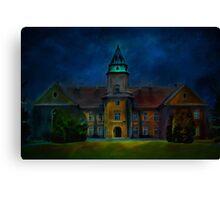 Dzikow Castle Canvas Print