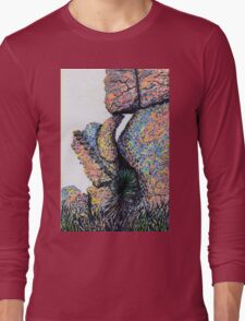 Cliff Boulders at Cochise Stronghold Long Sleeve T-Shirt