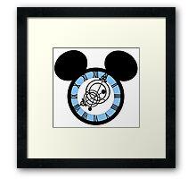 Cinderella Castle Clock Framed Print