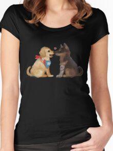 Cap & Bucky Women's Fitted Scoop T-Shirt
